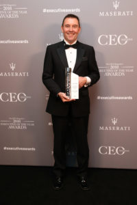 Mercy Health CEO Stephen Cornelissen named CEO of the year.