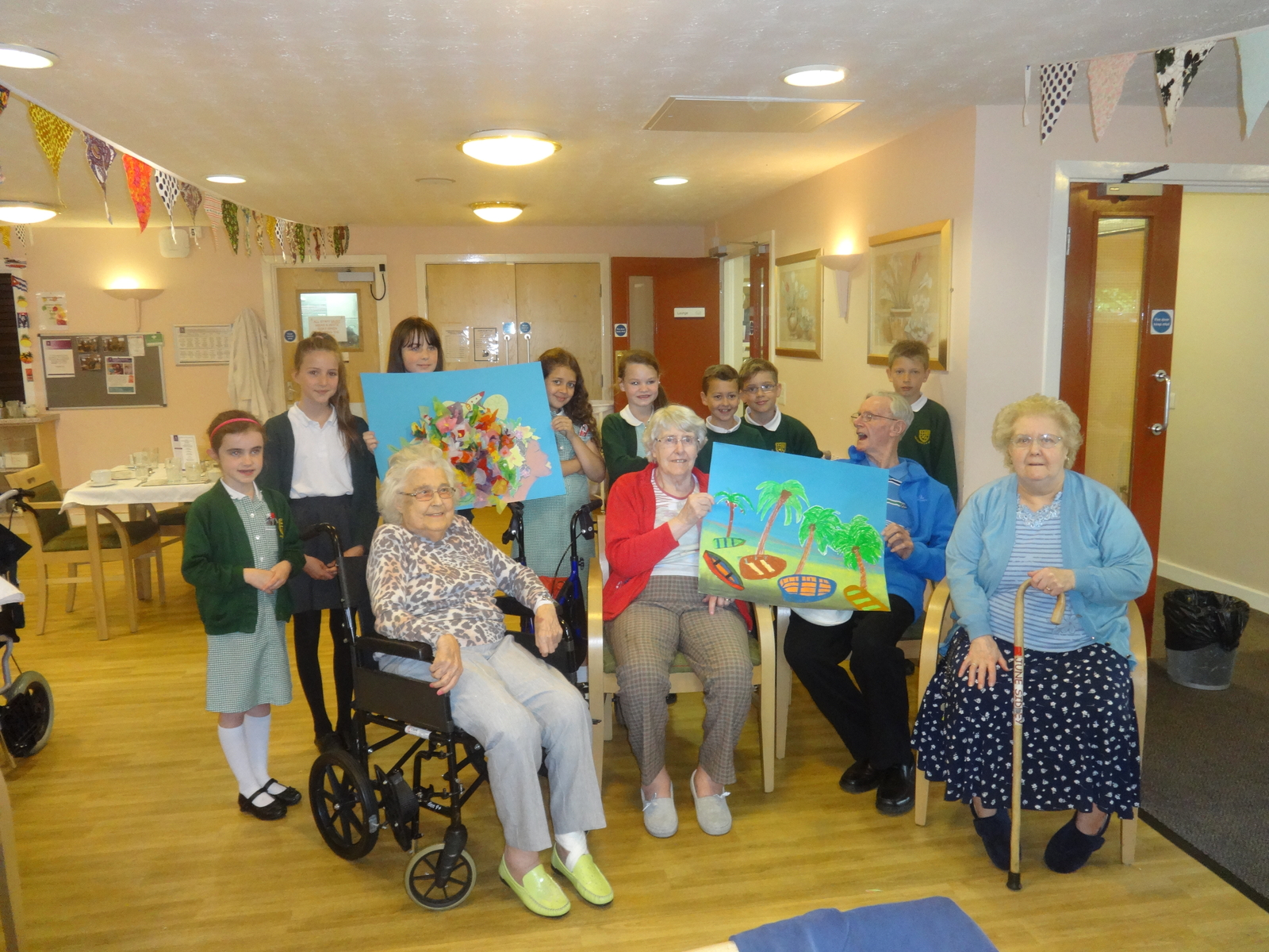 day at the nursing home In the united kingdom, the bridge house nursing home in abingdon, oxon, hosts a day care with a three-month waitlist in seattle, washington, the providence mount st vincent, an elder adult.